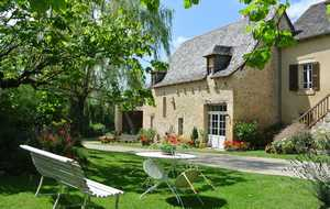 Bed and breakfast La Grange de la Bonaurie , Aveyron, Rignac, France