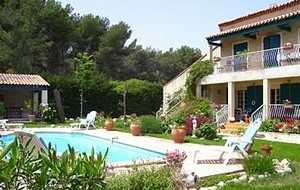 Bed and breakfast Villa Souleiado , Bouches_du_rhone, Chateauneuf-les-martigues, France