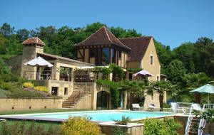 Bed and breakfast Les Hauts de la Faurie , Dordogne, Sarlat-la-caneda, France