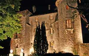 Bed and breakfast Le Chateau du Cros , Herault, Le-cros, France