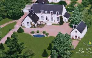 Bed and breakfast La Carriere , Indre_et_loire, Charentilly, France