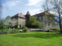 Bed and breakfast Chateau de Paquier , Isere, Saint-martin-de-la-cluze, France