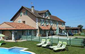 Bed and breakfast Airial des Guilises , Landes, Poudenx, France