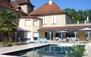 Bed and breakfast Le Domaine de l'Escadasse , Lot, Faycelles, France