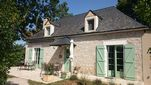 Cottage Les Bouyssieres , Lot, Creysse, France