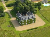 Bed and breakfast Chateau des Lutz , Mayenne, Chateau-gontier, France