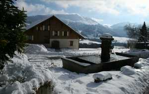 Bed and breakfast La Fontaine d'Argence , Haute_savoie, Habere-poche, France