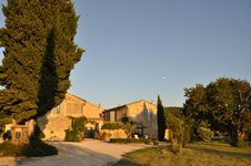 Bed and breakfast Le Mas en Provence , Vaucluse, Entrechaux, France