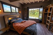 LACabane Lodge Nature Vue sur place