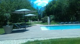 Manoir La Barriere Piscine
