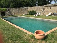 Chateau de Boiscoursier Piscine